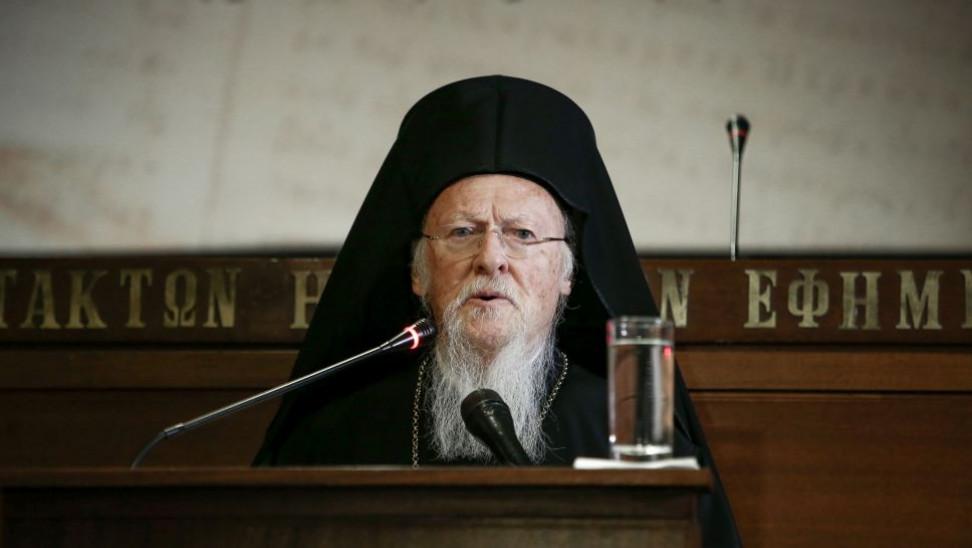 Οικουμενικός Πατριάρχης: Πρέπει να τηρούμε τα προστατευτικά μέτρα